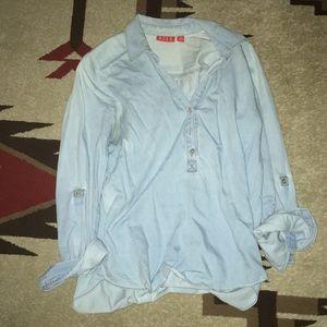 Women's jean blouse